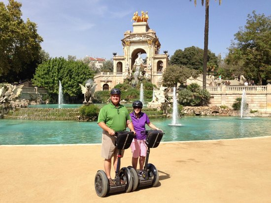 Best Way to see Barcelona - Picture of Barcelona Segway ...