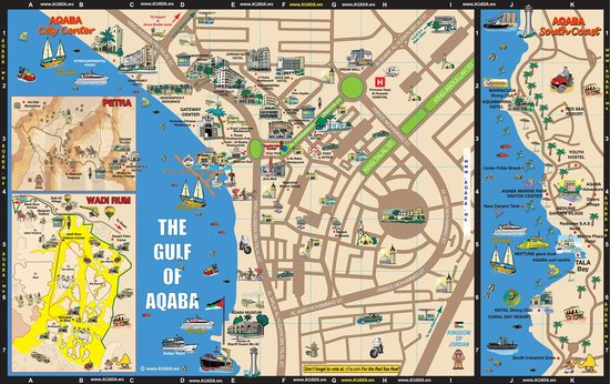aqaba map picture of tawnie s restaurant aqaba