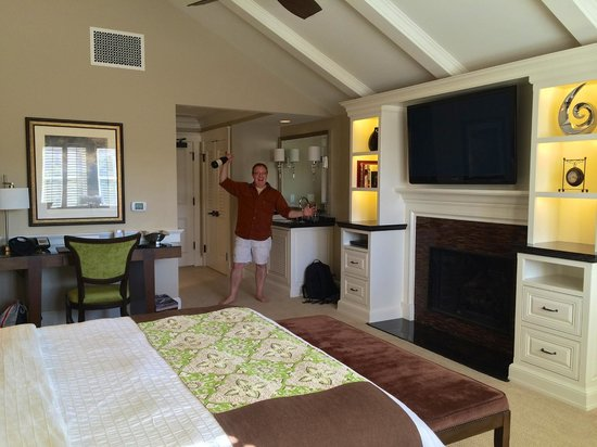 Fess Parker's Wine Country Inn and Spa: Enjoying settling in after a long drive