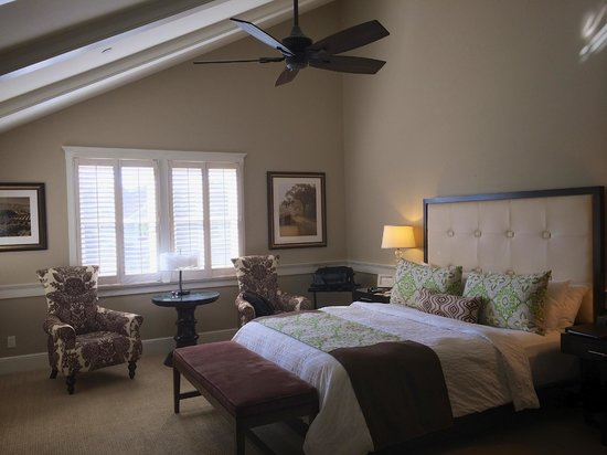 Fess Parker's Wine Country Inn and Spa: Our room.