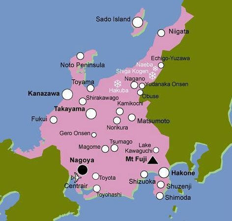 Japan Geography Map