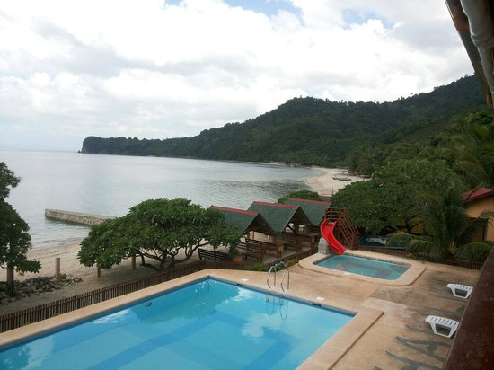 Bauan, Philippines: View from our room