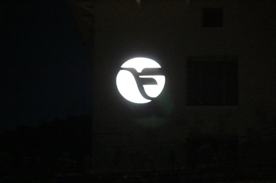 The Fortune Logo At Night Picture Of Fortune Select