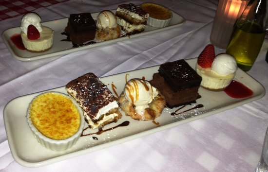 Mini Dessert Sampler Picture Of Maggiano S Little Italy
