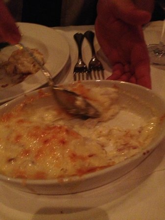 Three Cheese Potatoes Au Gratin - Picture of The Palm ...