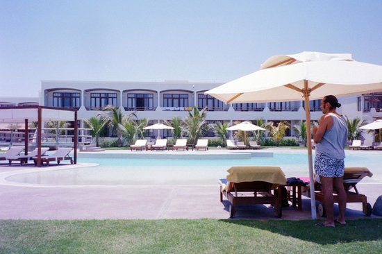 La Hacienda Bahia Paracas: Our spot in the sun