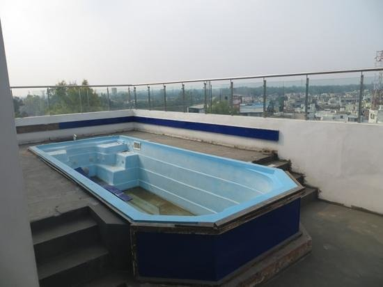 Rooftop swimming pool out of service picture of golden for Rooftop swimming pool