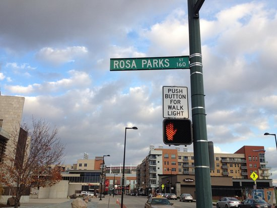 Rosa parks street picture of national underground railroad freedom center cincinnati - Centre commercial rosa parks ...