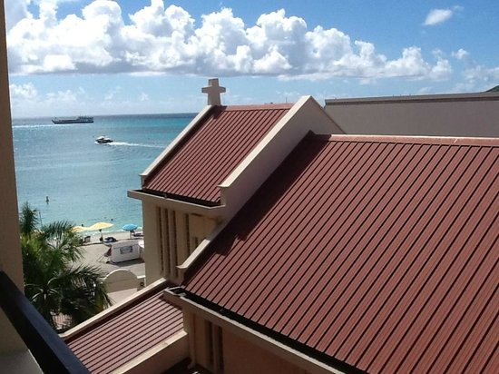 St Marten of Tours Catholic Church right on the beach next ...