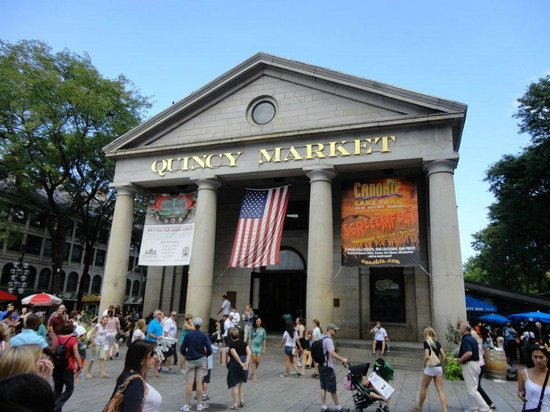 Faneuil Hall - Picture of Faneuil Hall Marketplace, Boston ...