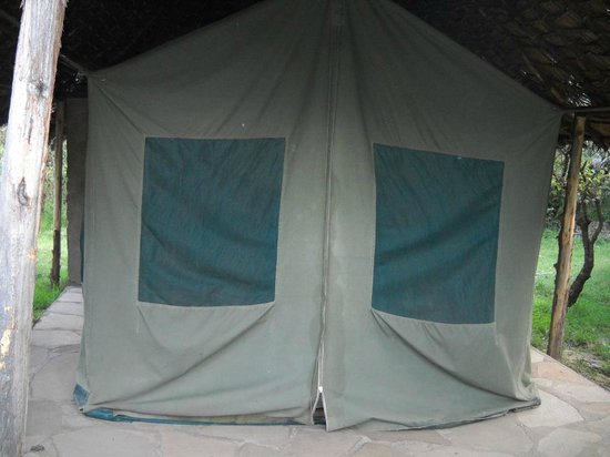 Miti Mingi Eco Camp: This was the tent that i shared with my friend who was my photo grapher all along.