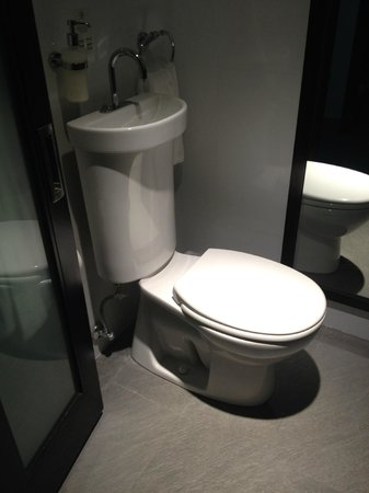 The Palms Hotel & Spa: Clever toilet flushing system