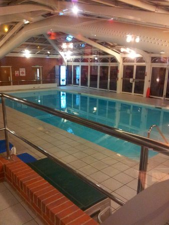 Swimming Pool Picture Of Hallmark Hotel Bournemouth Bournemouth Tripadvisor