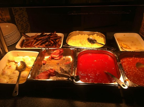 Bedford Hotel: Part of the breakfast selection