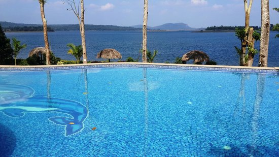Back water of harangi dam picture of coorg jungle camp kushalnagar tripadvisor Hotels in coorg with swimming pool