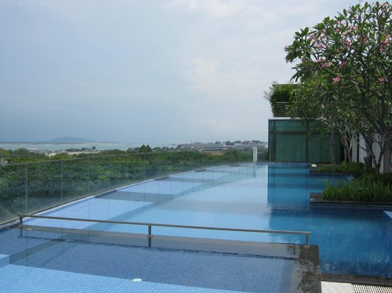 Rooftop Swimming Pool Picture Of Village Hotel Changi By Far East Hospitality Singapore