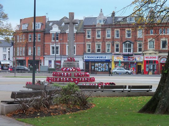 Exmouth The Strand In The Town Centre Picture Of
