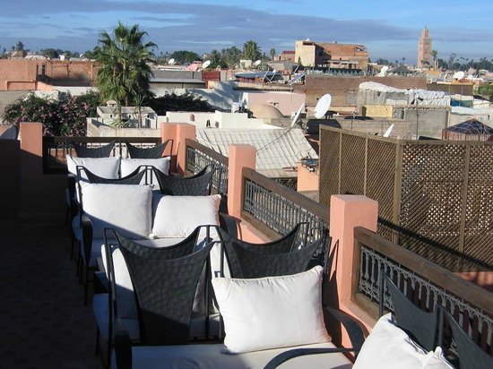 Riad Imilchil: View from the terrace