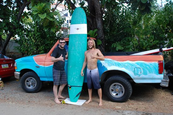 Puntas Surf School pr Puntas Surf School Nolan And