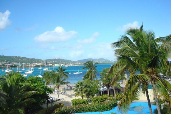 Hotel on the Cay: Christiansted Harbor from our room