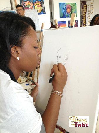 We help you make your paintings pop picture of painting for Painting with a twist chicago