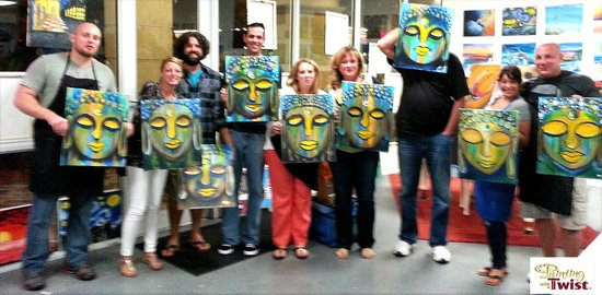 Painting with a twist fort lauderdale picture of for Painting with a twist san diego