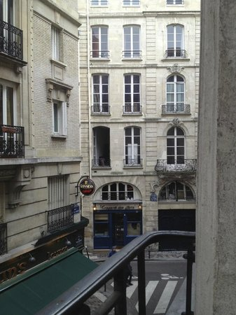 Hotel Residence des Arts: View from room