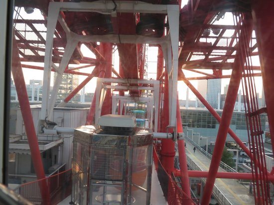 From the top! - Picture of Pallete Town Ferris Wheel, Koto - TripAdvisor