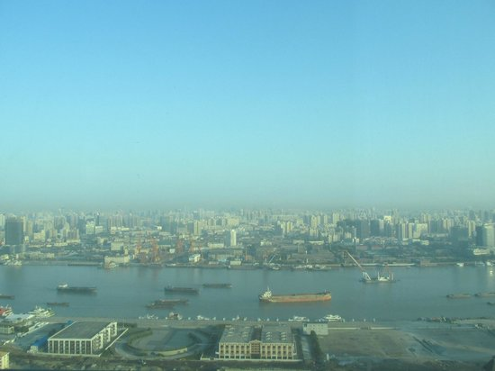Novotel Atlantis Shanghai: View to north, 38 floor