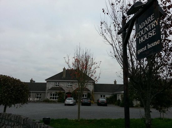 The front of adare country house for Adare house