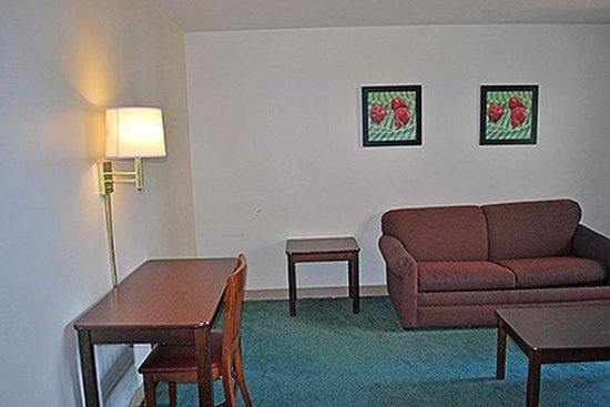 1 bedroom suite 1 king bed picture of extended stay america st louis airport n for Extended stay america one bedroom suite