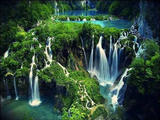 Beautiful photos/Nature - Page 3 Plitvice-lakes