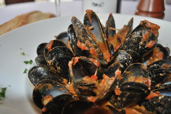 how to cook mussels in marinara sauce