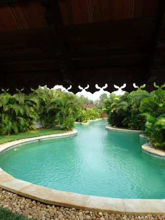 View From Meandering Pool Villa 144 Picture Of Kumarakom Lake Resort Kumarakom Tripadvisor