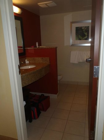 Courtyard by Marriott Miami Airport: Our Bathroom