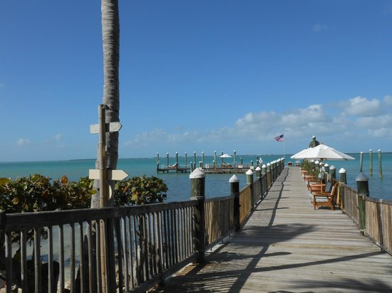 little palm island dock picture of the dining room at