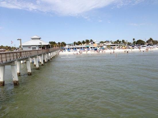 fort myers beach fishing pier picture of fort myers