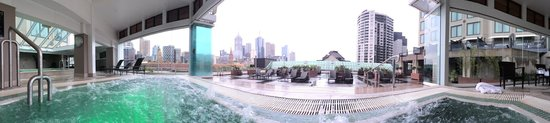 The Langham, Melbourne: Spa and view!