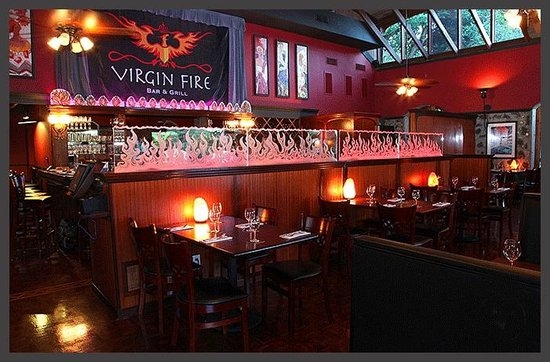 Virgin Fire Bar & Grill: Virgin Fire Dining Room
