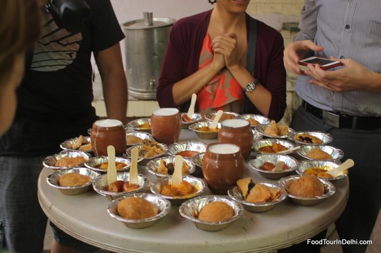 Indian Food Tours in Delhi