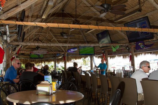 Dolphin Tiki Bar And Cafe Marina Marco Island