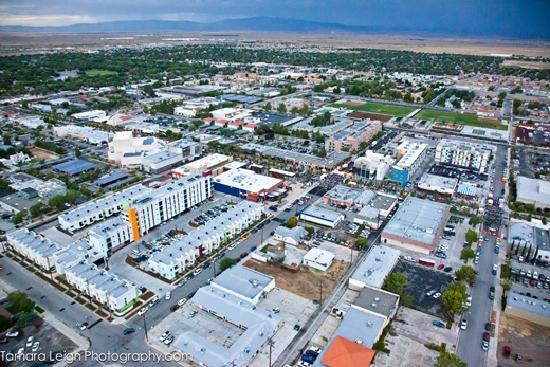 Aerial Pic of Downtown Lancaster, CA