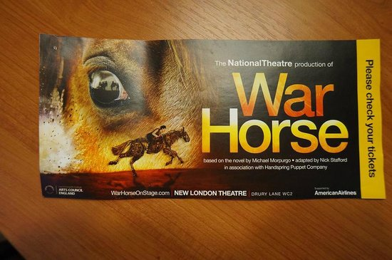 essays on war horse - a foal horse is sold to a farmer - the farmer's son, albert, starts a friendly connection with the horse, whose new name is joey war horse by nick stafford.