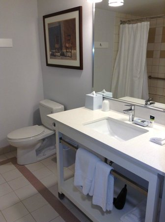 Four Points by Sheraton Winnipeg International Airport: Nice, clean bathroom