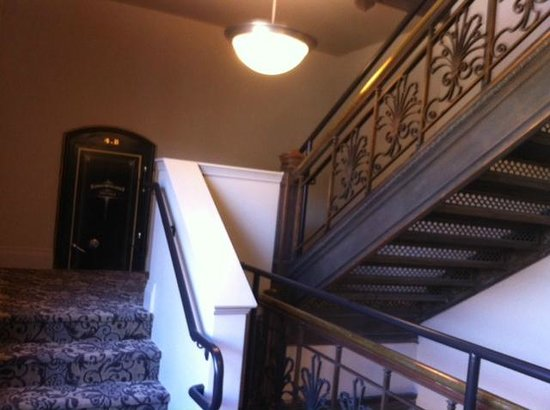 The Mining Exchange, A Wyndham Grand Hotel & Spa: Take the stairs to see history.
