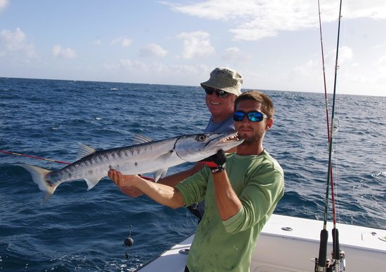 Barracuda picture of double header sportfishing st for St thomas fishing
