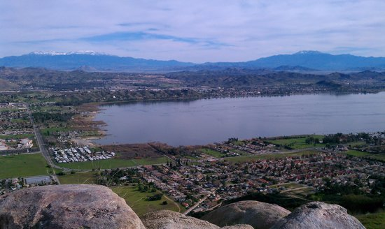 View From The Patio Picture Of Lake Elsinore California Tripadvisor