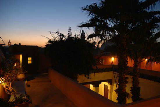 Riyad El Cadi: Sunset from one of the terraces.