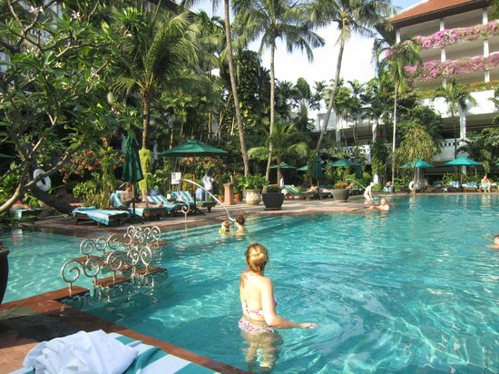 Swimming Pool Picture Of Anantara Bangkok Riverside Resort Spa Bangkok Tripadvisor