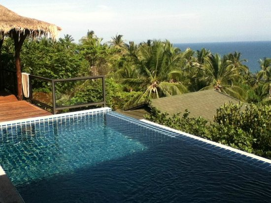 Piscine villa picture of koh tao heights pool villas ko for Koi pool villa koh tao